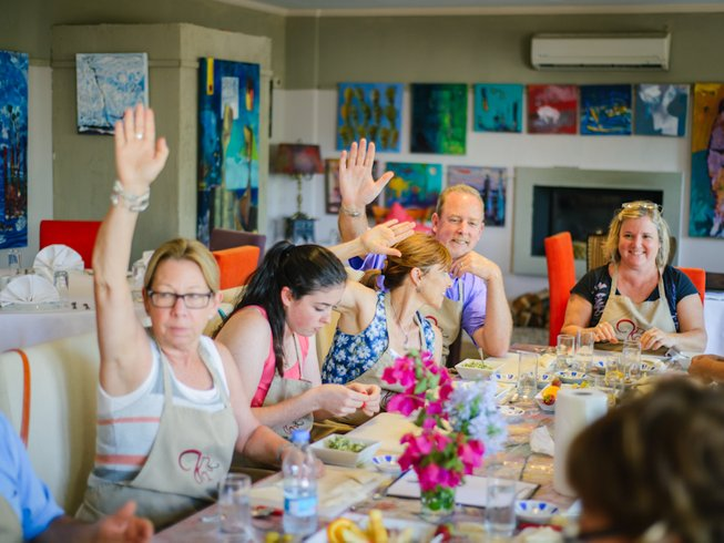 7 Days Cooking Classes Bodrum Turkish Culinary Retreat