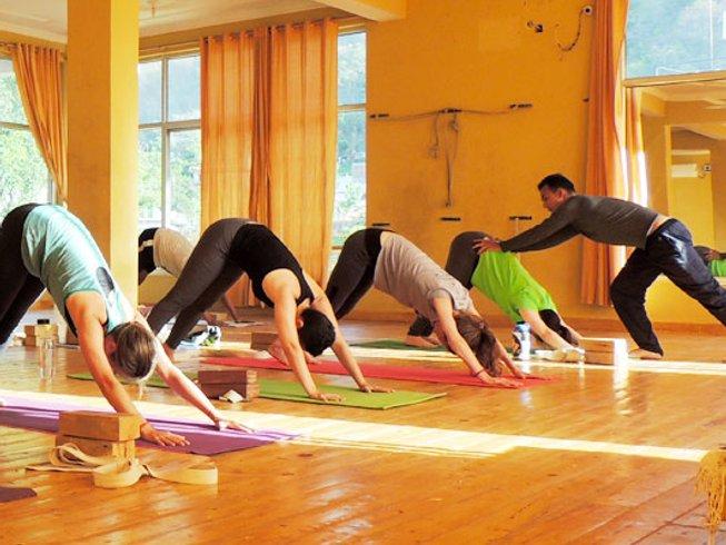 27 jours-200h de formation de professeur de hatha yoga à Rishikesh, Inde