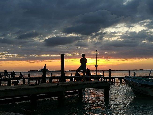10 días de tour, meditación y retiro de yoga en Quintana Roo, México