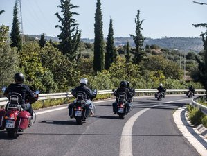 6 Day Cape Tainaron Guided Motorcycle Tour in Greece