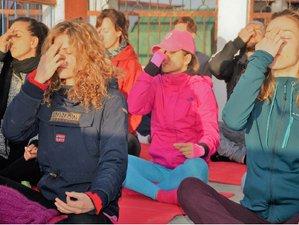 22 jours en stage de yoga rajeunissant, detox et méditation à Rishikesh, Inde