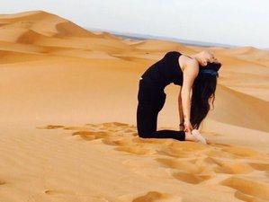Retiro de 7 dias de Yoga en el Sahara con Elena Espino, Maestra de Hatha Yoga y Fisioterapeuta.