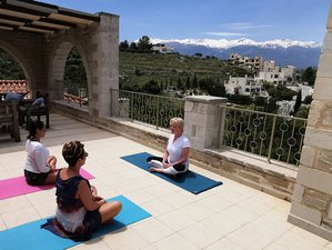 8 Days Luxury Mind, Body, and Space Yoga Retreat in Crete, Greece