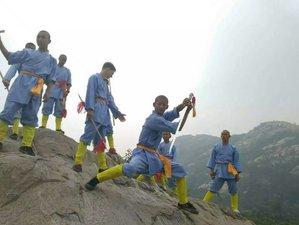 9 Months Shaolin Wushu Kung Fu Training in Zaozhuang, China