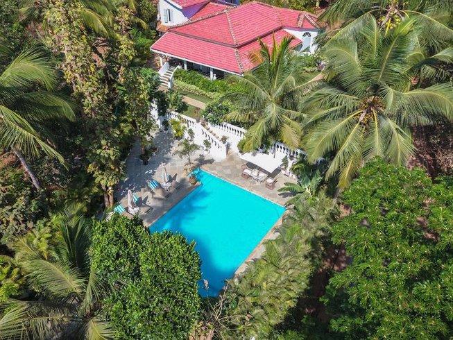 7 jours en vacances de luxe de yoga ayurveda à Goa, Inde
