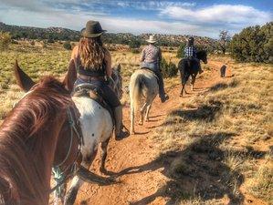 8 Day Unique Rescue Horse Ranch Vacation in Santa Fe, New Mexico