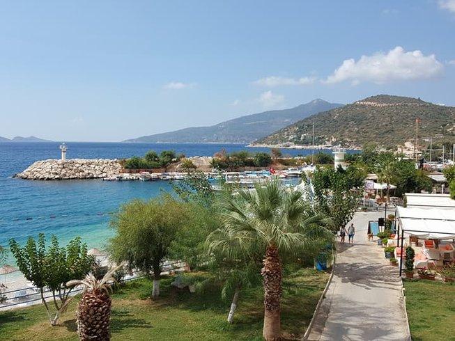 8 Tage Lebensveränderndes Yoga Retreat in Kalkan am Mittelmeer in der Türkei