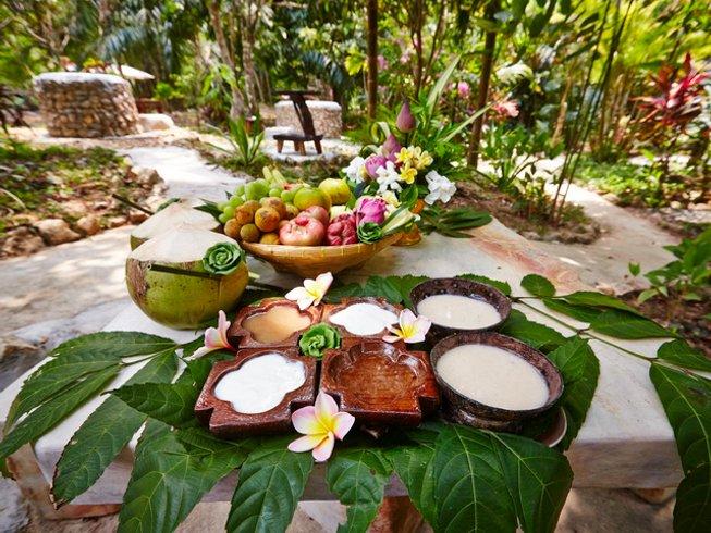 7 Tage Hot Spring Yoga und Kochen Urlaub in Krabi, Thailand
