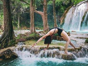 5 jours en stage de yoga, ayurveda et médecine par les plantes à Chiapas, Mexique