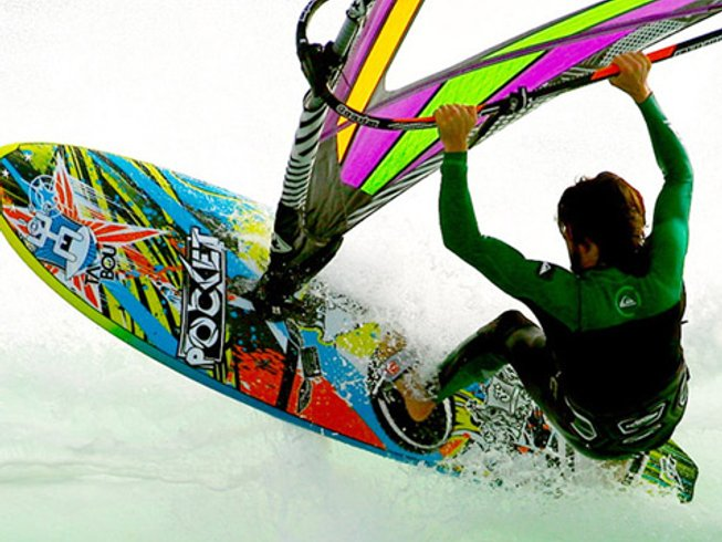 8 Days Windsurfing Surf Camp Spain