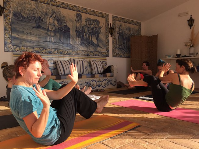5 Days Cycling and Luxury Yoga Retreat in Algarve, Portugal