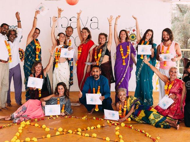 26-Daagse 200-urige Yoga Docententraining in Goa, India