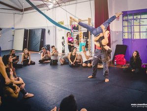 4 Day Intensive AcroYoga Workshop in Sicily: Moving Shapes with Filippo Granata and Silvia Oggioni