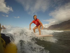 4 Days All-Level Surf Camp Lanzarote, Spain
