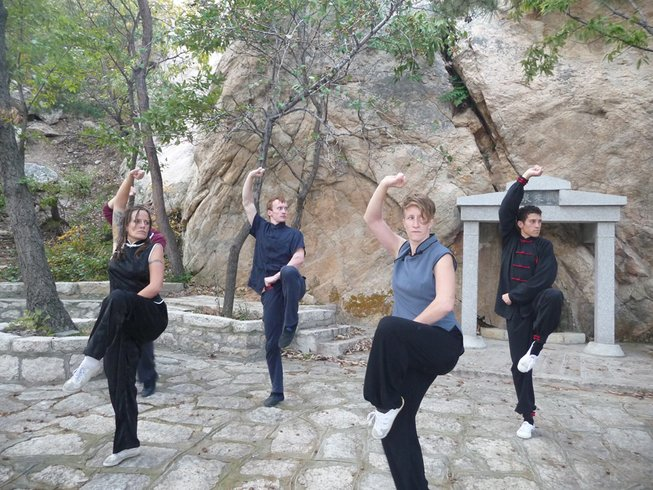 3 Years Authentic Kung Fu Training in Yantai, China