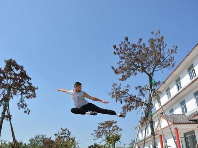 6 Months Shaolin Kungfu, Tai Chi & Wing chun Training at Maling Mountain, Xinyi, Jiangsu, China