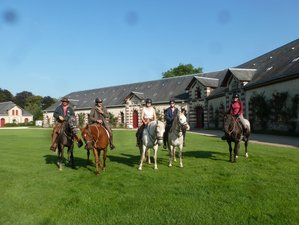 7 Days Historical Tour and Horse Riding Holiday in France
