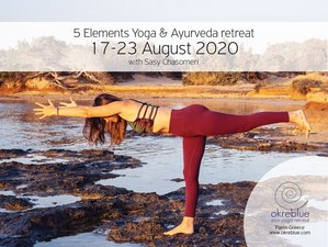 7 Day Five Elements Ayurveda and Yoga Retreat in Paros, Cyclades