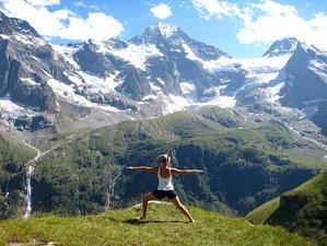 7-Daagse Yoga Wandelweek in de Zwitserse Alpen