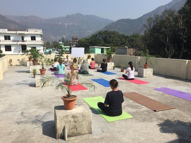 7 Tage Meditation und Yoga Urlaub für Anfänger Rishikesh, Indien