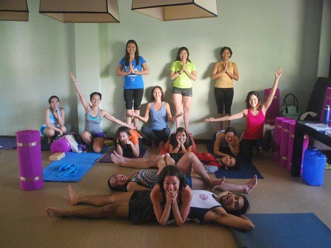 17 jours-300h en formation de professeur de yoga à Taguig, Philippines