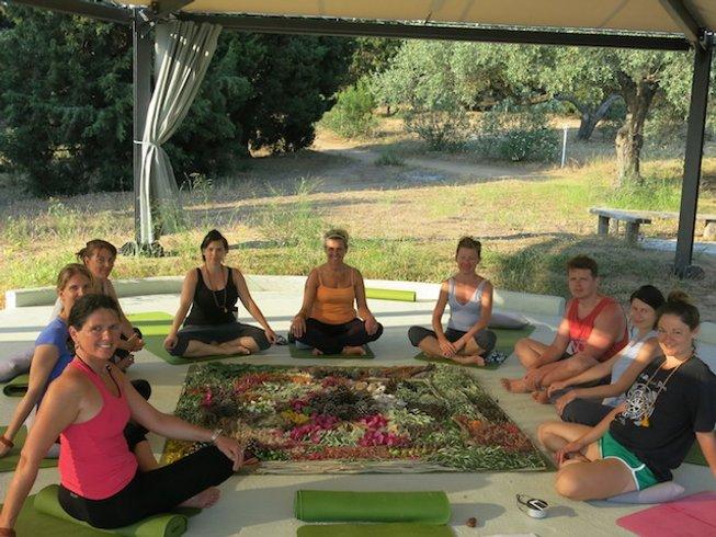 7 Days Private Island Yoga Retreat in Greece