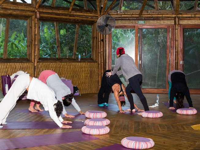 4 Days Ecological and Cultural Immersion Surf and Yoga Retreat in Ubatuba, Brazil