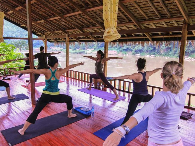 3 Days Blissful Yoga Retreat in Luang Prabang, Laos