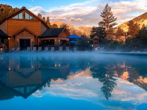 "3 Day Mamas-Only Weekend ""Turn Into Winter"" Hot Springs Yoga Retreat in Nathrop, Colorado"
