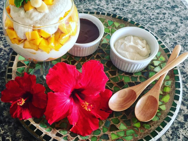 5 Days Living Foods, Aerial Yoga Play, and Sound Healing Yoga Retreat Hawaii, USA