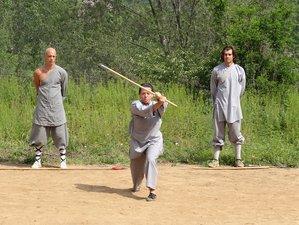 8 Months Songshan Shaolin Kungfu Training in China