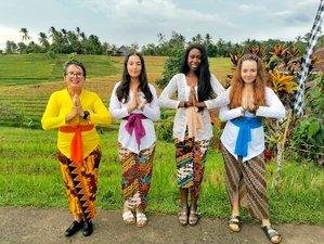 2 Day Pampering Wellness, Hindu Spirituality, Culture and Watukaru Yoga Spa Retreat in Tabanan, Bali