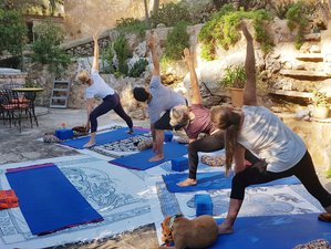 8 Tage Saftkur Yoga Retreat mit Massage und Coaching in Spanien