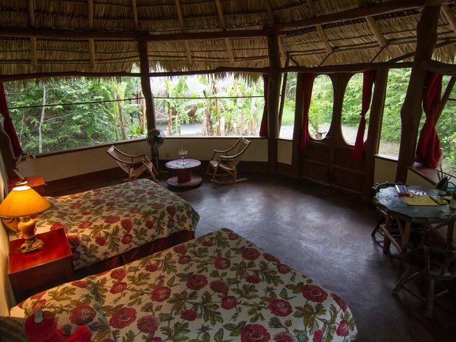 8 jours en stage d'acro yoga, yoga aérien et méditation dans le département de Rivas, Nicaragua