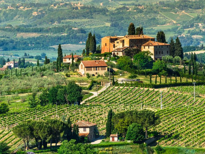7 Days New Year's Eve Cooking and Wine Holidays in Tuscany, Italy
