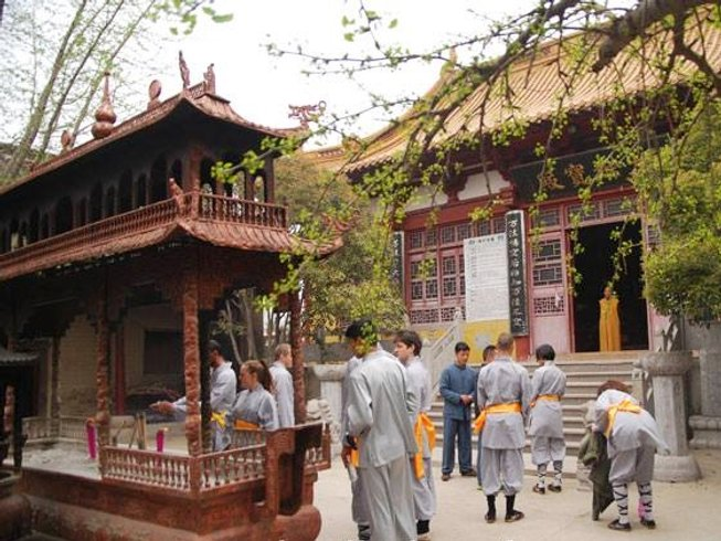 4 Years Traditional Shaolin Kung Fu Training in China