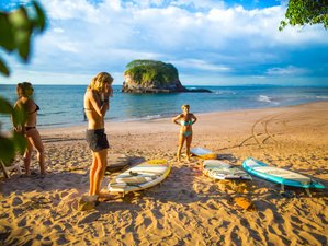 7 Days Standard Surf Camp Los Pargos, Costa Rica