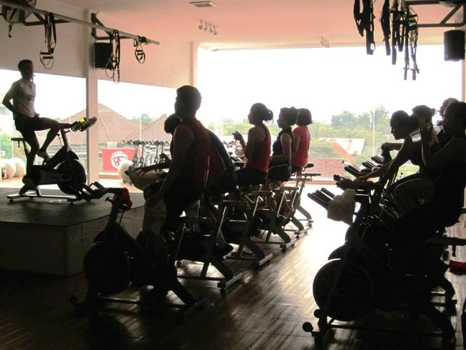 7 Days Fitness, Spinning, and Yoga Adventure in Bali