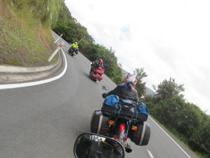 13 Days Kiwi Trails Self-Guided Motorcycle Tour on the North Island of New Zealand