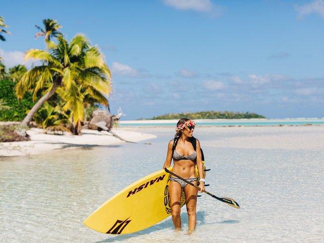 8 jours en retraite de méditation et SUP en Polynésie française