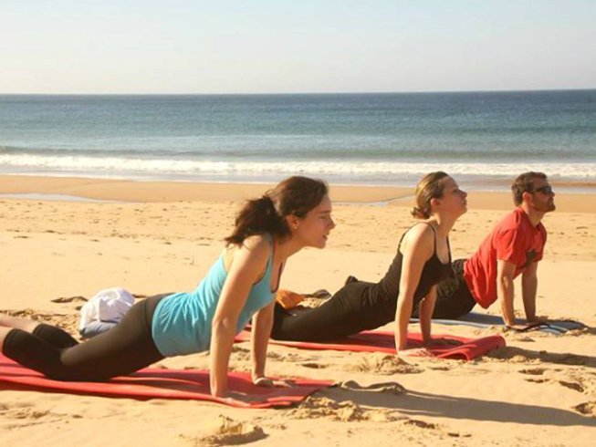 7 Days Yoga and Surf Retreat in Portugal