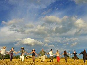 5 días de retiro especial de meditación, creatividad y yoga Nidra en Tarragona, España