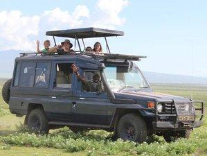 6 Days Epic Safari in Tarangire, Serengeti, and Ngorongoro Crater in Tanzania