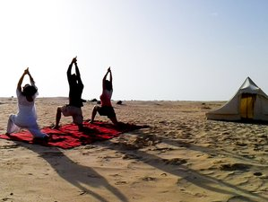 11-Daagse Yoga Nia & Pilates Vakantie met 3-Daagse Woestijntrektocht in Tunesië