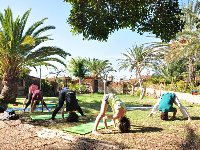 5 Days Personalized Holistic Yoga Retreat in Tenerife, Spain