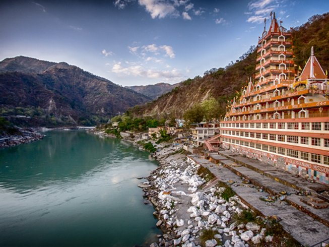 58 Days 500hr Yoga Teacher Training in Rishikesh, India