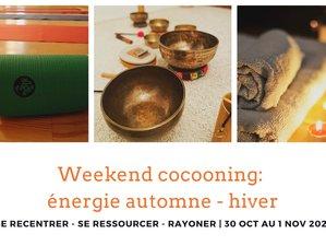 3 jours en week-end cocooning avec yoga et bain sonore près de Paris
