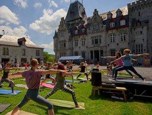 Dimanche Journee Spirituelle de Yoga avec une nuit a Durbuy,Wallonie