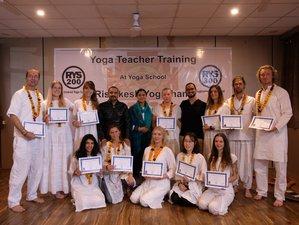 28 Day 200-Hour Scholarship Yoga Teacher Training in Rishikesh