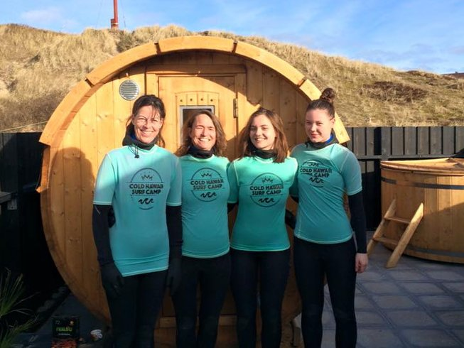 7 Days Cold Hawaii Yoga Holiday and Surf Camp in Thisted, North Denmark